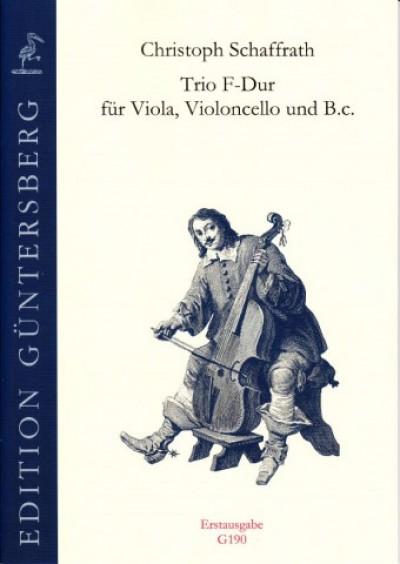 Trio F-dur, CSWV E:12, für Bratsche, Violoncello und Basso continuo