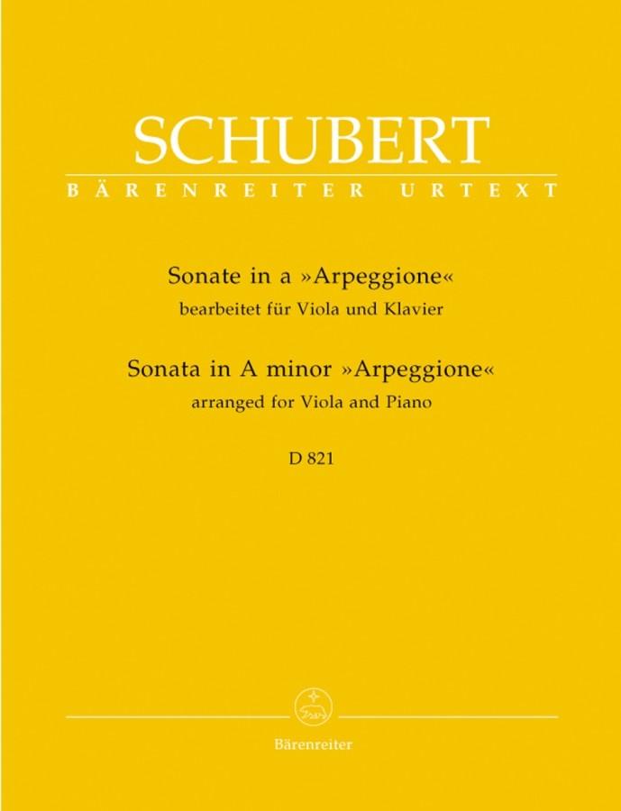 Sonate «Arpeggione» a-moll, D 821, für Violoncello (Viola, Flöte) und Gitarre